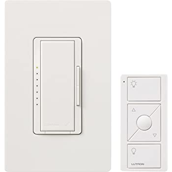 Lutron Mrf2 600mthw Wh Maestro Wireless 600 Watt Multi Location Dimmer With Controller And