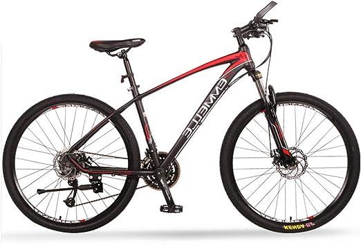 NENGGE 27 Velocidades Bicicleta Montaña, 27.5 Pulgadas ...