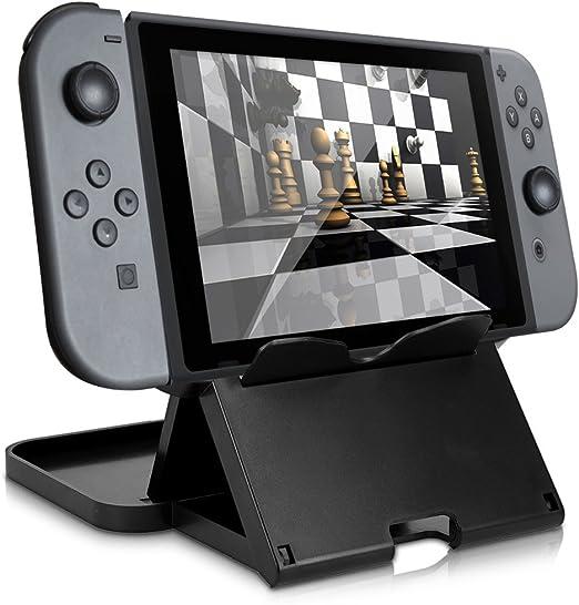 kwmobile Soporte compatible con Nintendo Switch - Base para ...