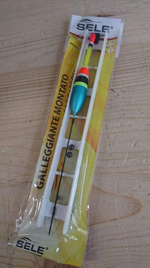 terminale 0.16mm con Amo composta da avvolgilenza Sele Lenza pronta per la Pesca a Galleggiante Galleggiante 2 Grammi