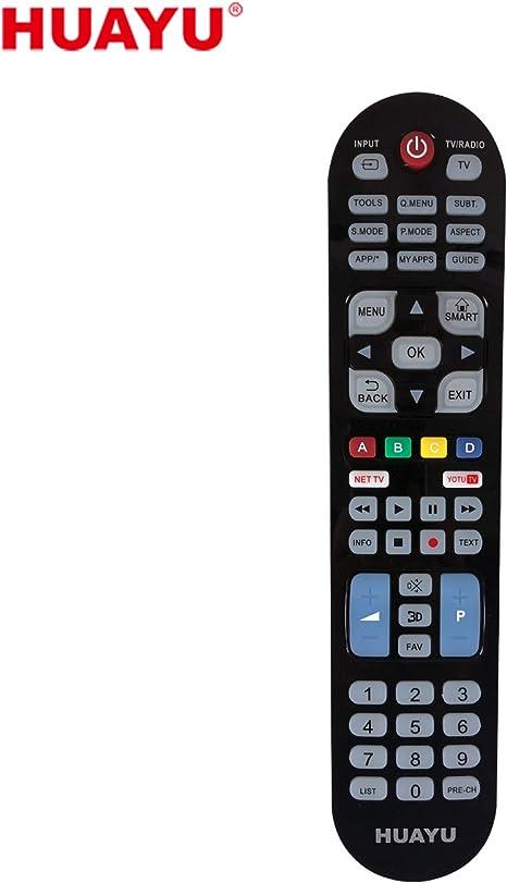 HUAYU URC1515 - Mando a Distancia Universal para Samsung LG-Sony 3 ...