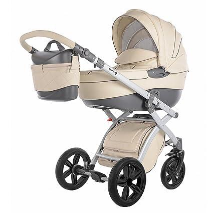 knorr-baby Cochecito de bebé combi Alive Pure beige: Amazon ...