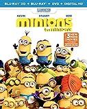Minions [Blu-ray 3D + DVD + Digital Copy]