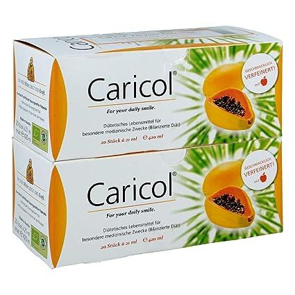 CARICOL bolsa juego doble 840 ml bolsa: Amazon.es: Salud y cuidado ...