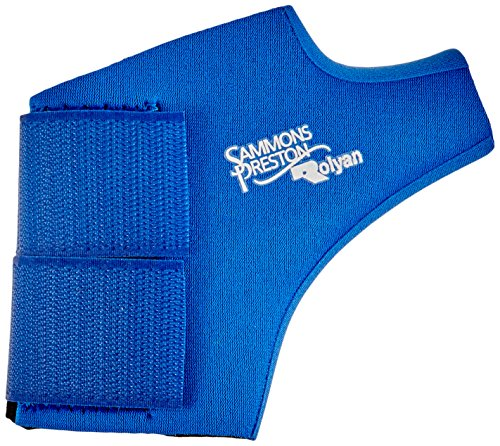 Rolyan Neoprene Wrap On Thumb Support for Left Thumb, Thu...
