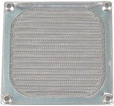REJA de ventilador de aluminio-alambre-filtro 92 mm plata: Amazon ...