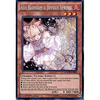 Ash Blossom & Joyous Spring - MACR-EN036 - Secret Rare - 1st Edition - Maximum Crisis (1st Edition)