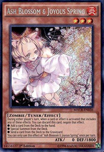Ash Blossom & Joyous Spring - MACR-EN036 - Secret Rare - 1st Edition - Maximum Crisis (1st Edition) by Yu-Gi-Oh!