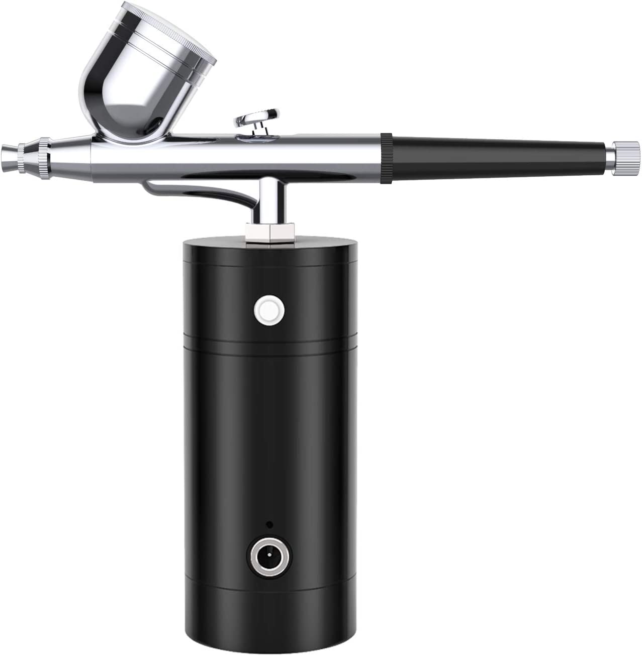 YLINGSU Airbrush Kit, Rechargeable Handheld Mini Air Compressor Airbrush Set, Portable Cordless Airbrush Gun with Low Noise for Makeup, Tattoo, Nail Art, Face Paint, Cake Decor: Arts, Crafts & Sewing