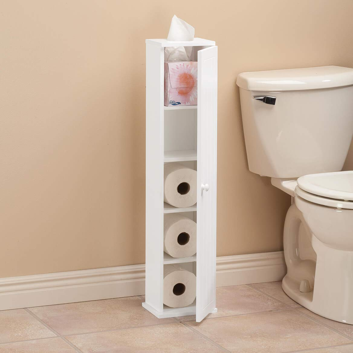 OakRidge Ambrose Collection Mega Roll Toilet Tissue Tower by OakRidge (Image #4)