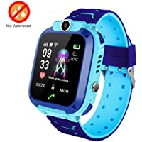 Kids Smartwatch With GPS Tracker, Lesgos Smart Watch Phone Compatible Ios Android Support SOS Call Remote Monitor Two Way Call Touch Screen Games, Christmas Birthday Gift For 3-12 Boys Girls