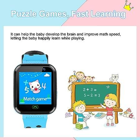 Amazon.com: Relojes inteligentes para niños, pantalla táctil ...