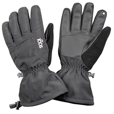 180s Men's Tec Touch Gloves Powder II Medium Black