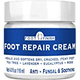 Toenail Fungus Treatment, Antifungal Cream, Athletes Foot, Foot Fungus, Dry Cracked Feet and Smelly Feet. with Essential Oils