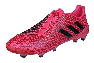 adidas Predator Malice FG Mens Rugby Boots-Red-13.5 e651528b8