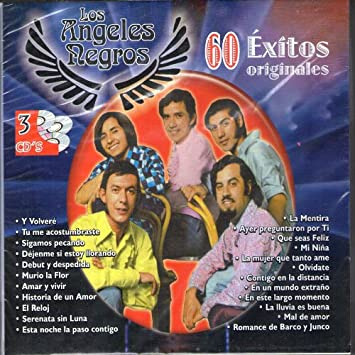 LOS ANGELES NEGROS - 60 EXITOS ORIGINALES DE LOS ANGELES NEGROS - Amazon.com Music