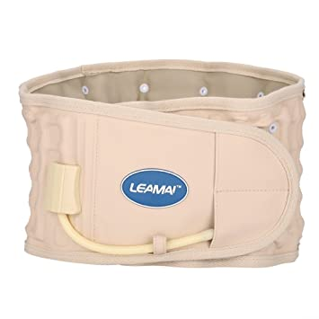 Cinturón de cintura hinchable para postura lumbar y alivio del dolor, por Lumbar Disc Traction