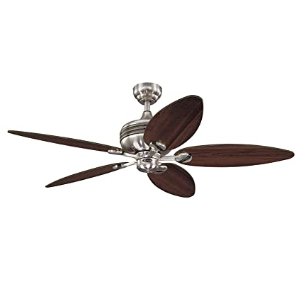 Ceiling Lights & Fans Dynamic Wood Ceiling Fan 52inch 5 Leaf Without Light And 2 Size Rod For Livingroom Bedroom Dinning Room Lights & Lighting