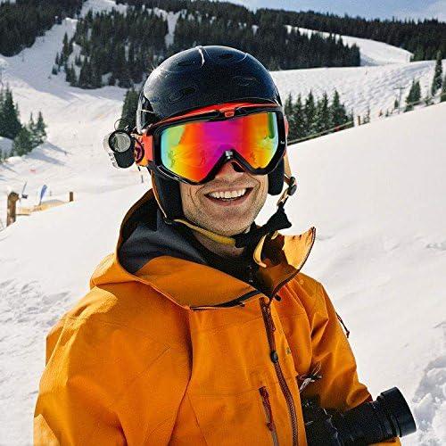 Universal Snow Ski Snowboard Brille Brille Mit Hard Case Reißverschlussbox