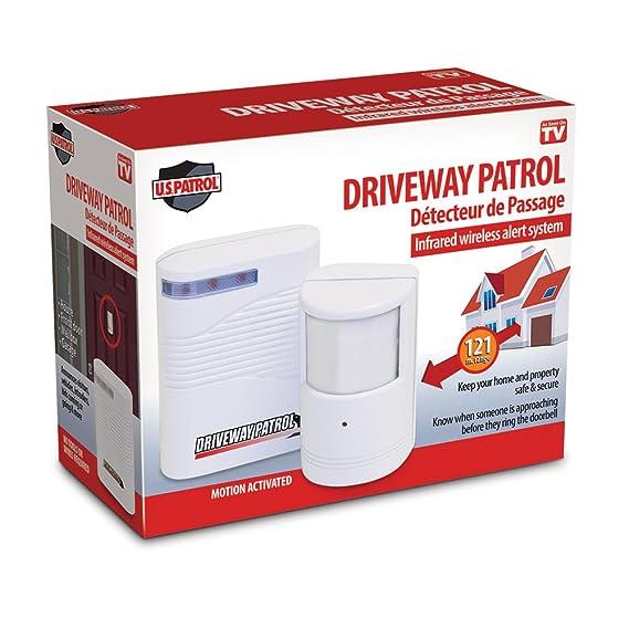 Alarma con Detector de Movimiento   inalámbrico para Funcionamiento con batería, para Interior y Exterior: Amazon.es: Bricolaje y herramientas