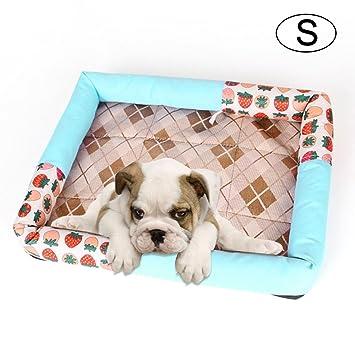 KOBWA - Sofá Cama para Mascotas, Lavable, Cojín Antideslizante para Cama de Gato,