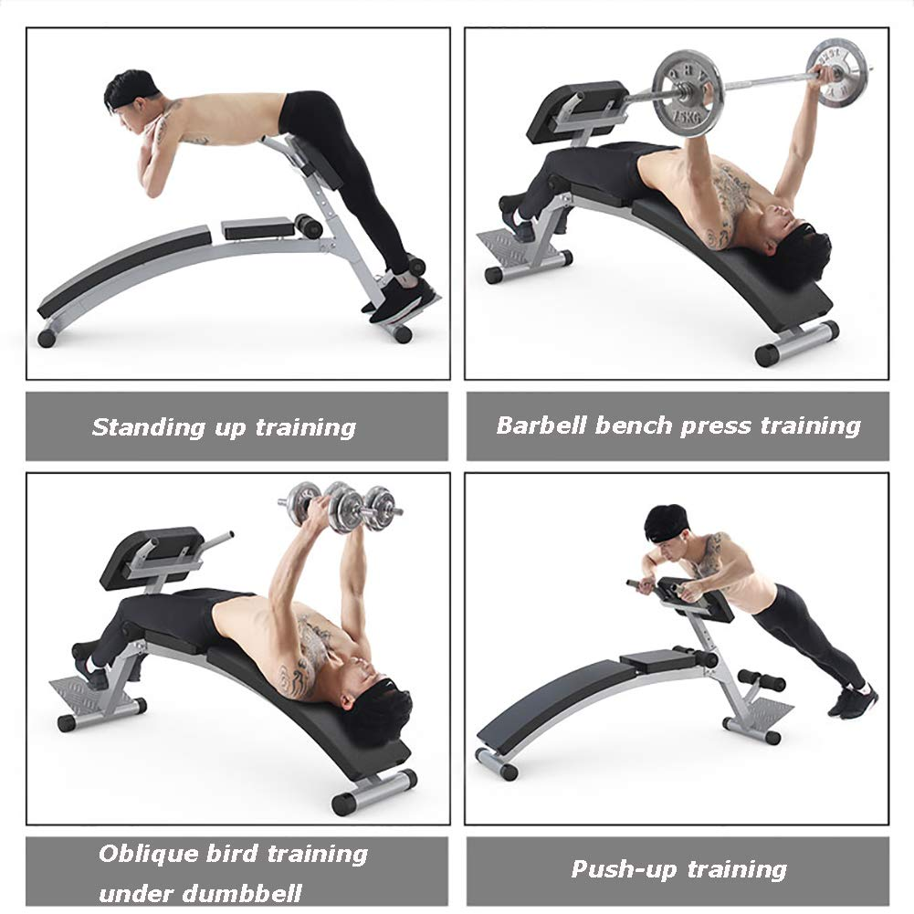 HECHEN Multi-Función Ajustable Banco De Pesas-Sit-Up Board Equipo De Fitness-Inicio Silla Fitness: Amazon.es: Deportes y aire libre