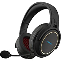 XIBERIA Wireless Gaming Headset for PS4,PC with Microphone,Lossless 2.4GHz Ultra-Low…