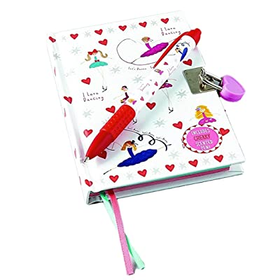 Floss & Rock Ballet Lockable Diary with Snifty Scented Pen Cherry Scent: Toys & Games