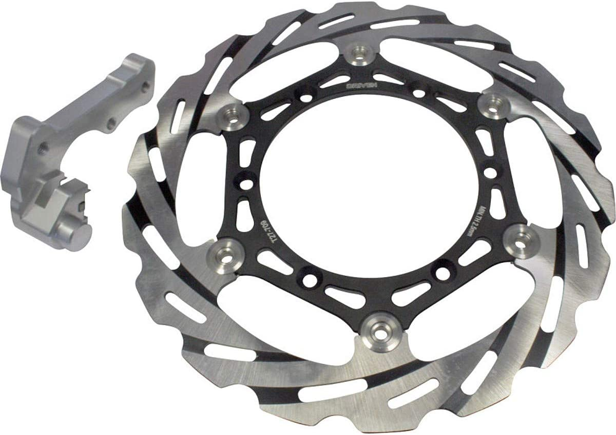 DRIVEN Blade Oversize Floating Front Brake Rotor for 08-20 Yamaha YZ250
