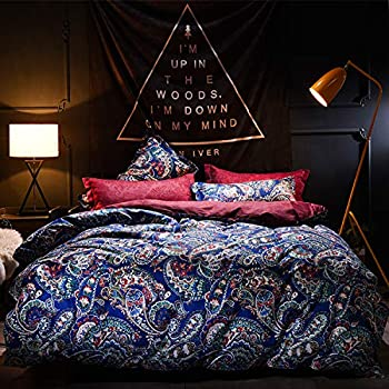 68 W x 85 L Cotton Bedding Sets,Box Stitched,Soft,Breathable,Hypoallergenic,Fade Resistant Print Queen 1 Duvet Cover 2 Pillowcases Wrinkle Fade Resistant-Cartoon Colorful Exotic Funny