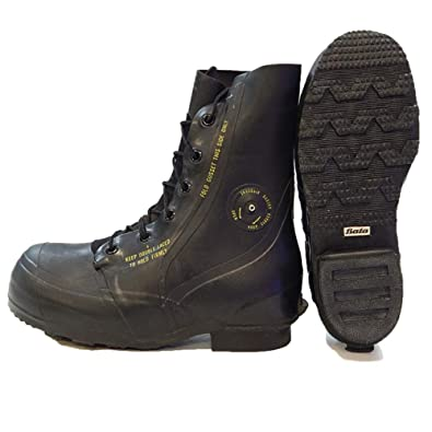 798dc1d817737 Amazon.com | Combat Boot, Mickey Mouse Extreme Cold Weather Boots,  Waterproof Rubber, Genuine U.S. Military Issue | Motorcycle & Combat