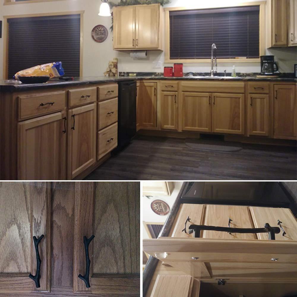 20X Lots Kitchen Cabinet Hardware Door Knobs Handles Cupboard Drawer Pulls DIY