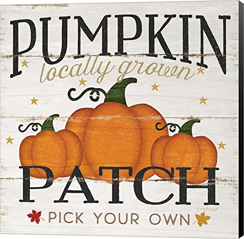 Pumpkin Patch by Jennifer Pugh pumpkin wall Art