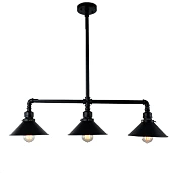 metal pendant lighting fixtures. unitary brand black antique rustic metal shade hanging ceiling pendant light max 120w with 3 lighting fixtures