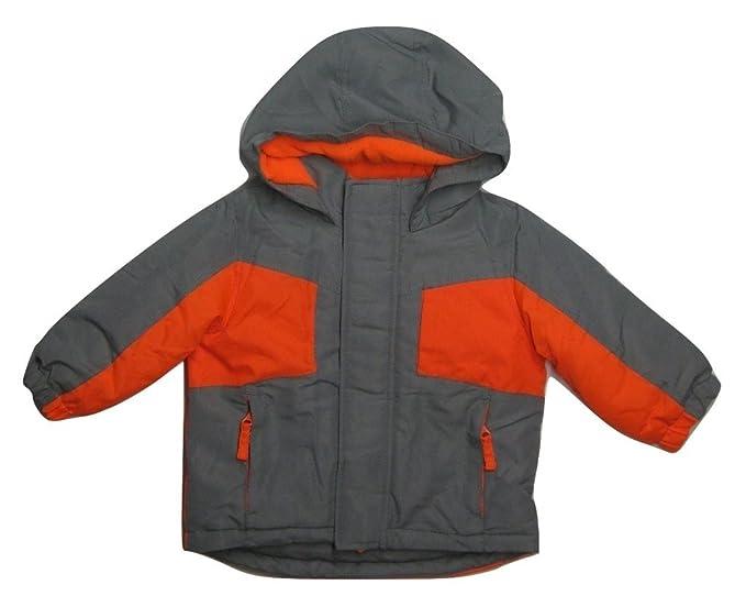 9cad4b0f0 Amazon.com  WonderKids Infant   Toddler Boy s Colorblock Hooded ...