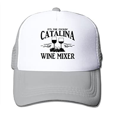 856ec203fc8 Unisex-Adult Fuckin  Catalina Wine Mixer Mesh Dancing Cap Hat Black ...