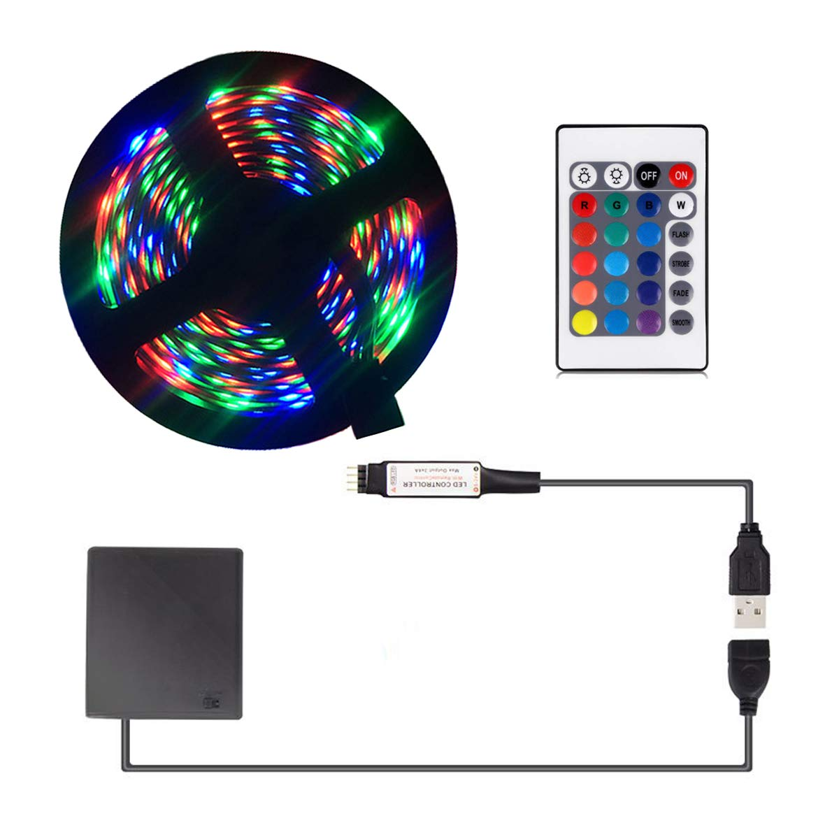 Battery powered led strip lights usb led strip lights led strip battery powered led strip lights usb led strip lights led strip lights battery powered usb operated aloadofball