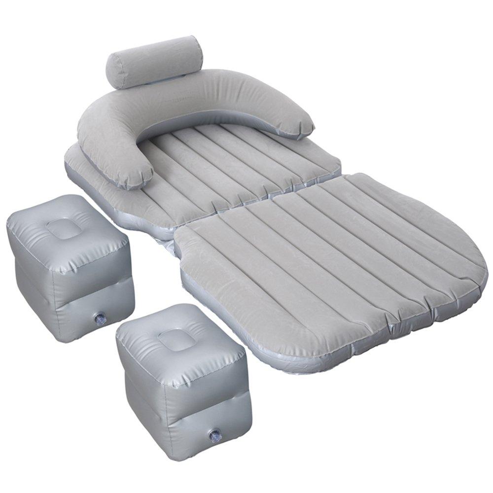 YQQ Tragbar Selbstfahrendes Reisebett Auto Aufblasbares Bett Im Freien Kampieren Luftmatratze (Farbe : grau)