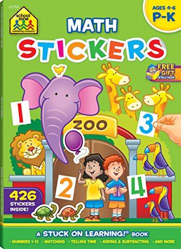 Sticker Workbook-Math Readiness Grades P-K