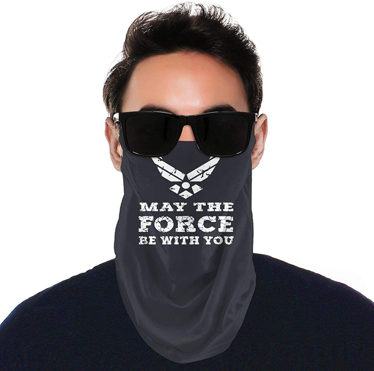 Air Force USAF May The Force Be with You Ear-Hung Variety Windproof Gaiter Face Towel Face Headscarf