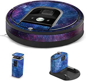MightySkins Skin Compatible with iRobot Roomba 960 Robot Vacuum - Nebula | Protective, Durable, and Unique Vinyl Decal wrap Cover | Easy to Apply, Remove, and Change Styles | Made in The USA