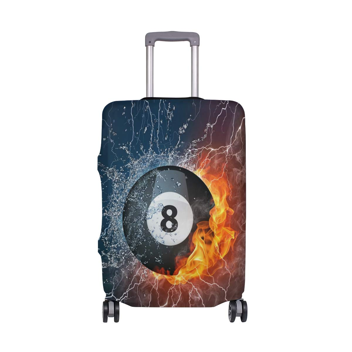 Travel Luggage Cover Spandex Suitcase Protector Washable Baggage Covers Colored Science Math Formula