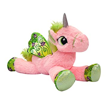 Amazon Com Novelty Inc Jumbo 18 Plush Magical Unicorn Pony