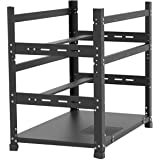 Assletes New Bitcoin Mining Rig Frame 3 Layers - Open Mining Frame for 12 GPU Mining Case Server Rack Motherboard Bracket ETH