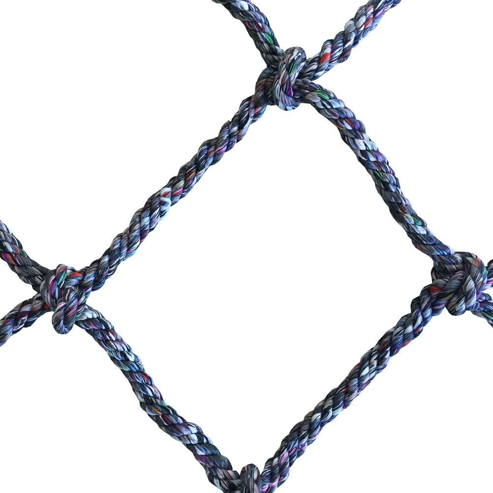 Aoneky 40'' x 80'' Climbing Cargo Net (Multi Color), Rope Climbing Toy for Kids Boys Ages 6 Year Old and up: Sports & Outdoors