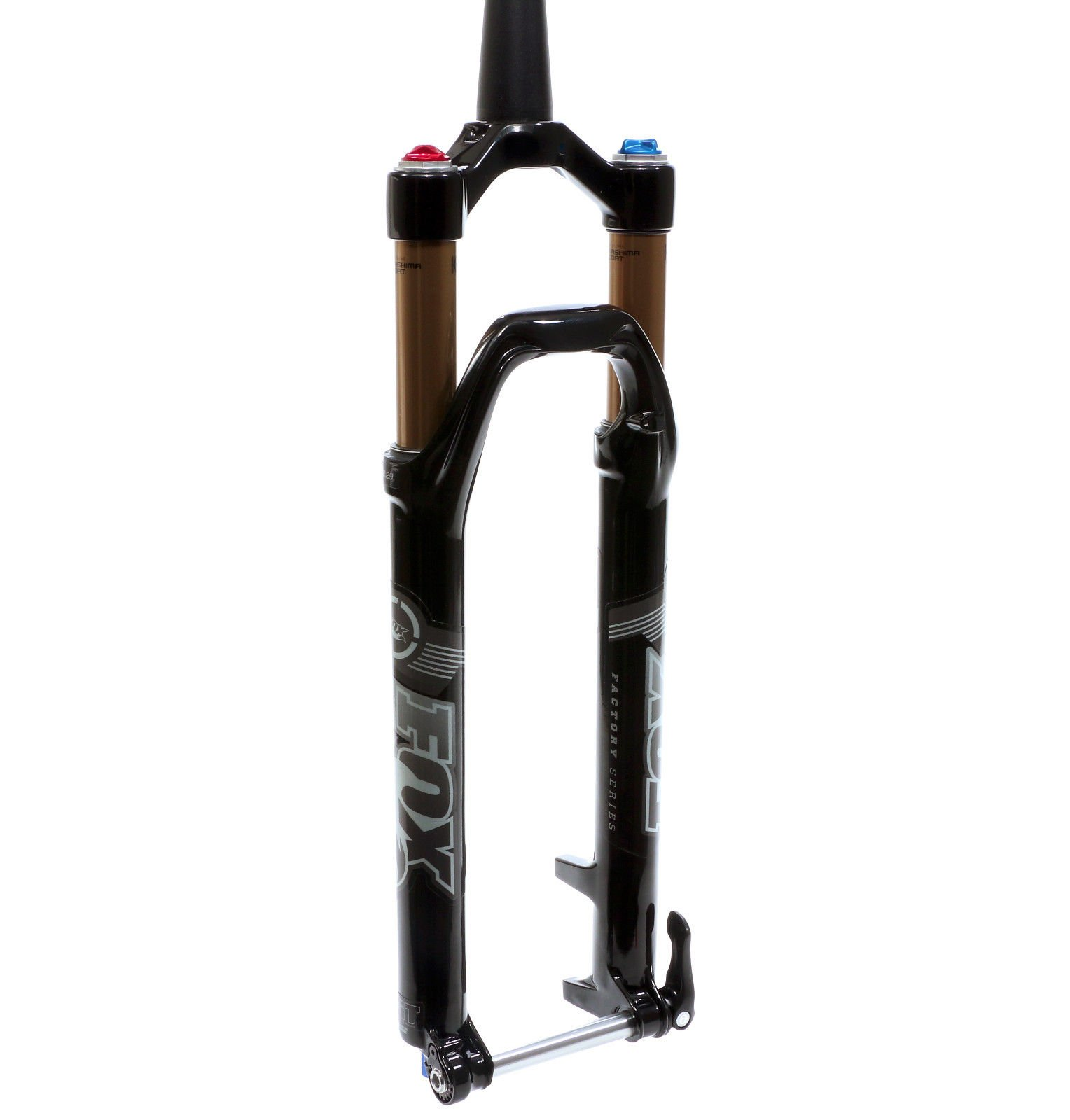 "Fox 32 Factory Float FIT Terralogic Fork 29"" 100mm Gloss Black QR15 1.5T 2015"