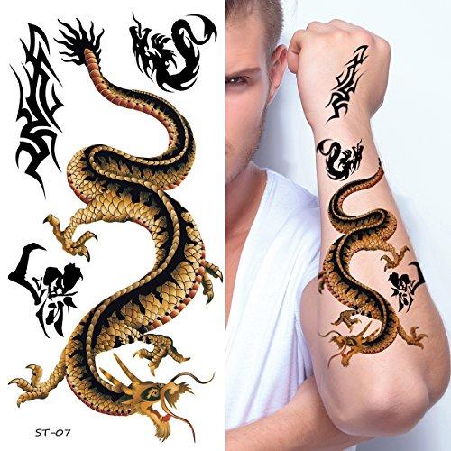 Supperb Temporary Tattoos - Japanese Dragon