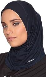 bb877bfb8f6ee Artizara One Piece Stretch Sports Hijab, Athletic Hijab, Workout Hijab for Modest  Islamic Hijabi