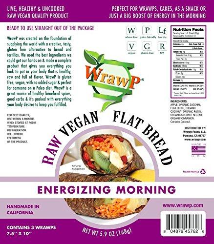 Organic Veggie Wraps-Energizing Morning
