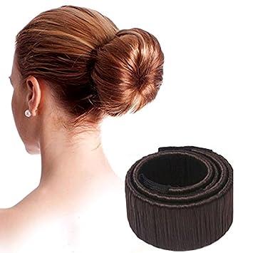 Dawa Mode Frisur Damen Fashion Haarstyling Tool Donut Hair Bun Maker Fashion Haare Dutt Styling Werkzeug Brautfrisur Brautschmuck Haarknoten